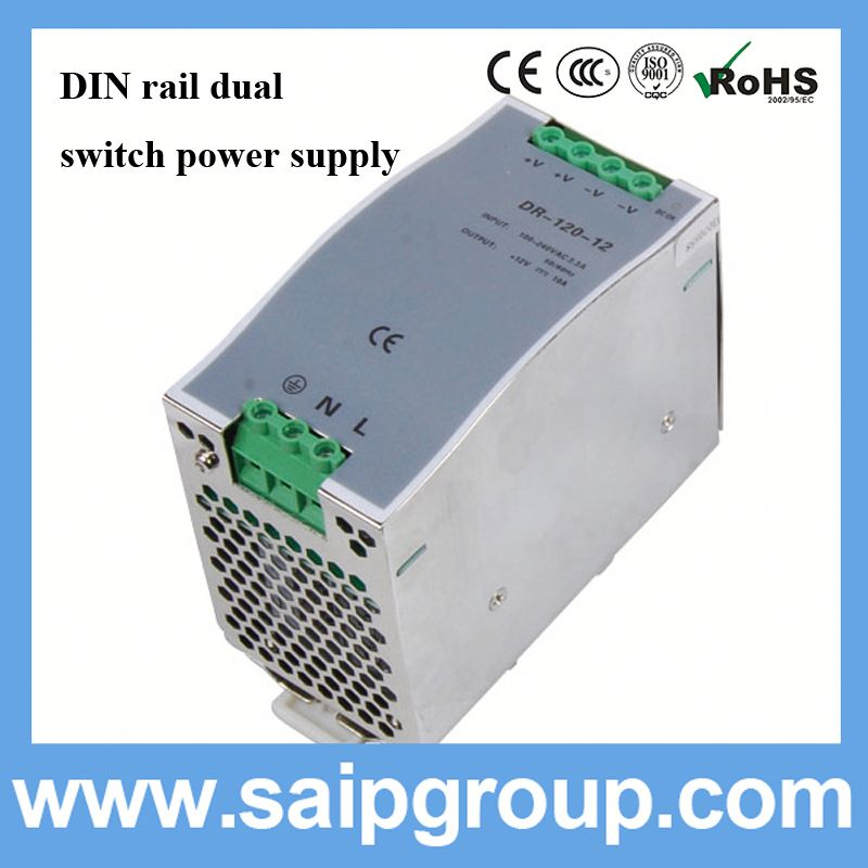 DIN rail led waterproof powersupply ip67 12v 5a power adapter