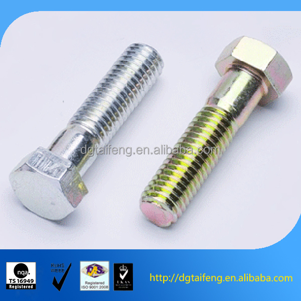 Phillips cross head shoulder long bolts with thick shank