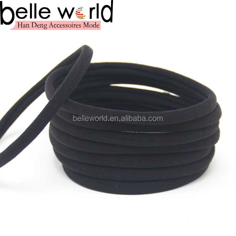 black color high stretch nylon headband wholesale