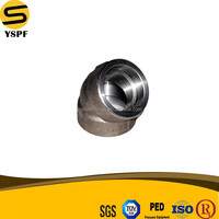 pipe fitting elbow socket weld SW pipe fitting elbow