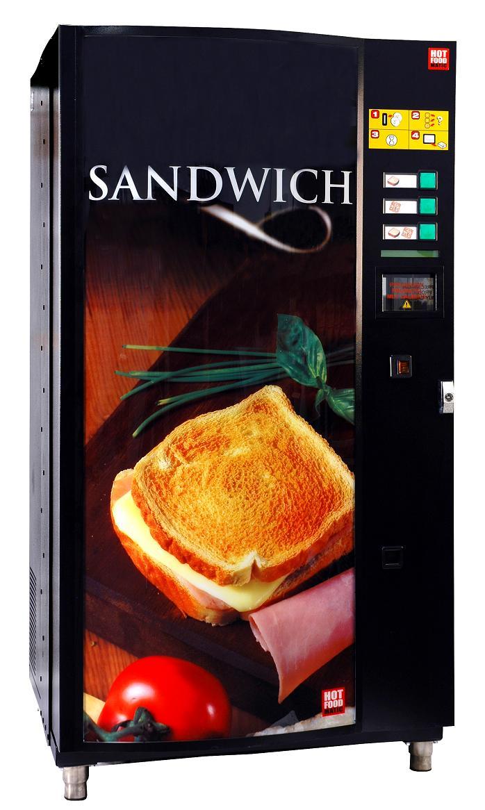 sandwich chaud distributeur automatique