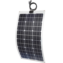High efficiency photovoltaic cell motorhome caravans flexible solar panel 50w 75w 100w for sale