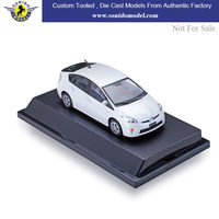 custom made 1:43 diecast model cars,diecast metal toy car toyota prius