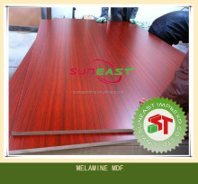 moisture proof recycle colour melamine mdf board density fibreboard