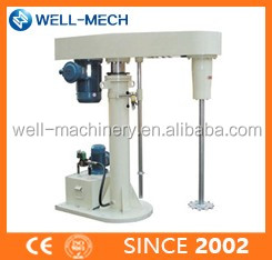 Variable speed Disperser Coating production Dissolver