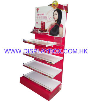 WDS080 Shampoo Display Stand/Kiosk