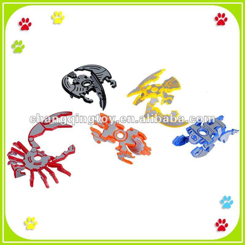 Plastic Novelty Promotional Transform CD Toy
