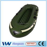 hot sale PVC 3 air chamber safe inflatable fishing boat/raft inflatable boat