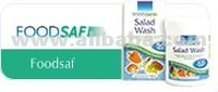 FoodSaf - Disinfection tablets for the washing of salads, vegetables and fruits for public use