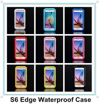 Swimming Waterproof Shockproof Snow Proof Phone Cover Case Dry Pouch Bag for Samsung Galaxy S6 / S6 Edge
