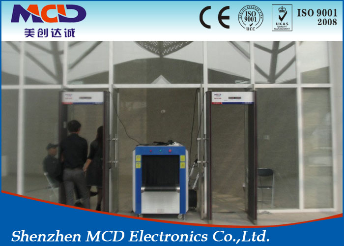 Archway Metal Detetctors Door/Full Body 3d Scanner Metal Detectors Used in Factory / hotel / Bank Security inspection