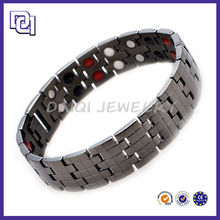 SUCCESSFUL MEN'S BRACELET FOR SALE,GUN BLACK DRUZY BRACELET,LATEST DESIGN ALLERGY BRACELET FOR WHOLESALE