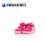 Specialized Children Sport New Leather With Fancy Flower Pink Baby Shoe