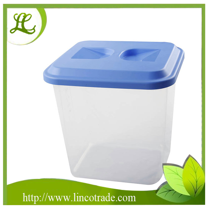 Plastic PP Cereal Container With Measuring Cup