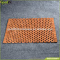 Bathroom furniture wood foldable bath mat set