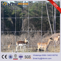 High Tensile Field Fence Wire 8ft/factory direct sale galvanized deer fence