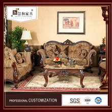 Custom China Manufacturer Classic Wooden Carved Tradional Sofa Set,Chinese Antique Sofa