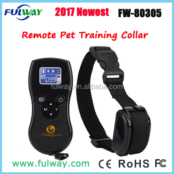 800M Range Control Wireless Remote Dog Training Collar For 2 Dogs