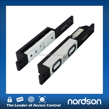 Strong and durable shear electromagnetic lock