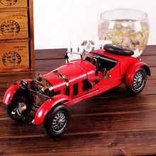 Highly detailed sport car model for cafe bar decoration