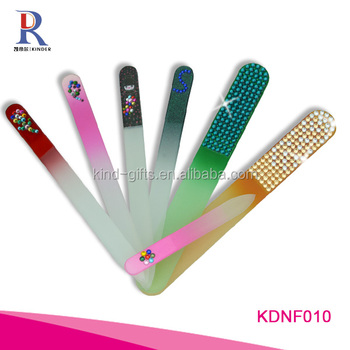 Morden hot sale feast with luxurious rhinestone foot nail file