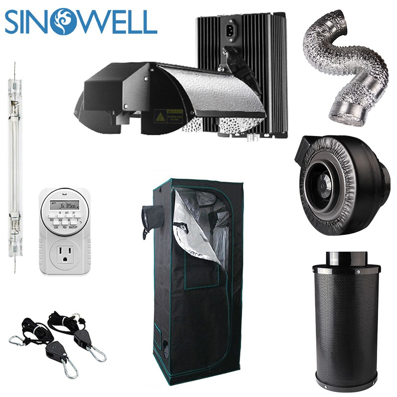 Professional Manufacturer SINOWELL Indoor Hydroponic Weed Growing Complete Kit
