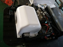 DC20 new design DC powered 2kw truck air conditioner