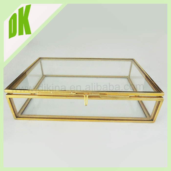 ^~^Jewelry Merchandise Display Event Decor Home Decoration ^~^ black silver gold glass round square rectangle trinket box enamel