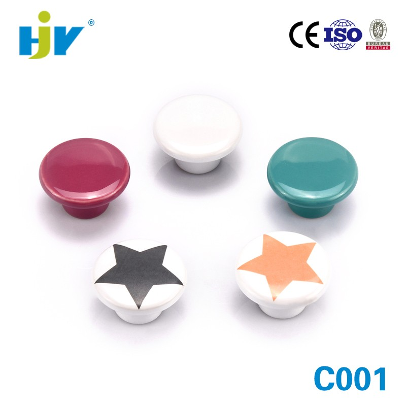 Shenzhen factory wholesale india ceramic cabinet door knobs