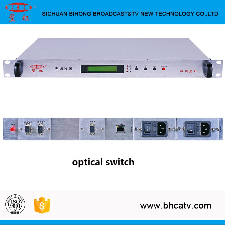 1-year warranty Automatic monitoring managed optical fiber ethernet switch