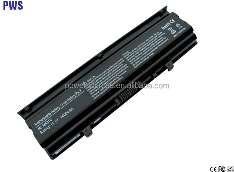 Laptop Battery For Dell Inspiron N4020 N4030 Inspiron 14V Battery TKV2V X3X3X W3FYY laptop W4FYY