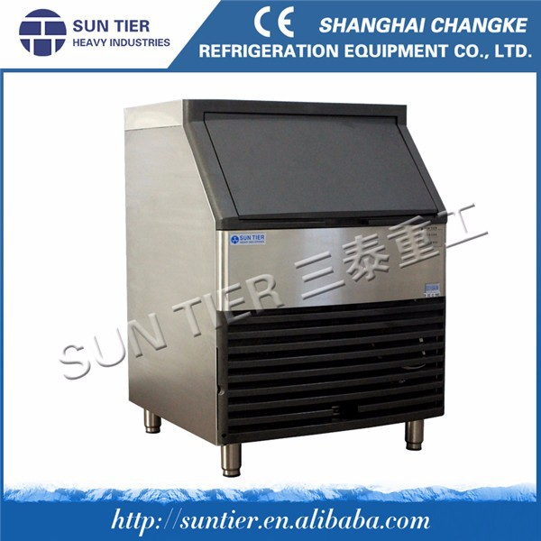 SUN TIER 100 kg ice cube maker/cube ice machine for bars/ice maker with water dispenser
