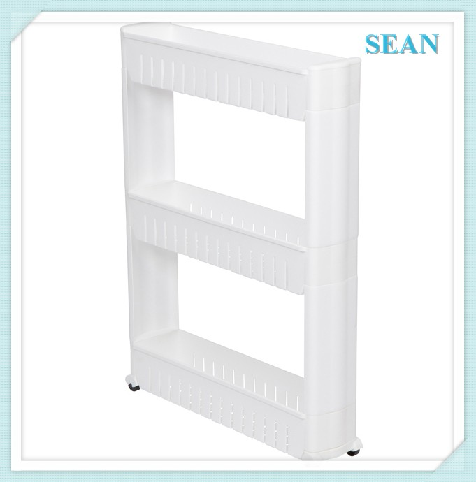 Slim slide pull out pantry kitchen pantry organizer slide for White thin man pantry cabinet