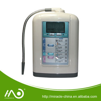Multi functional water ionizer
