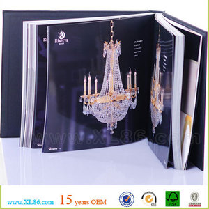 custom luxury hardcover catalogue printing