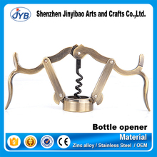 high quality stainless steel portable wine corkscrew bottle opener