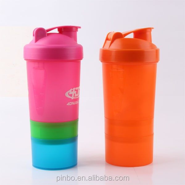 multilayer plastic water bottle,outdoor plastic sports bottle with straw