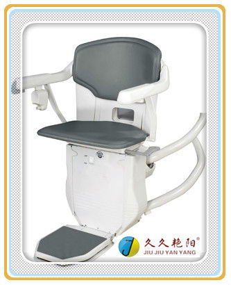 JY-LT Curved Rail Household Stair Lift Designed with Safety Swithches