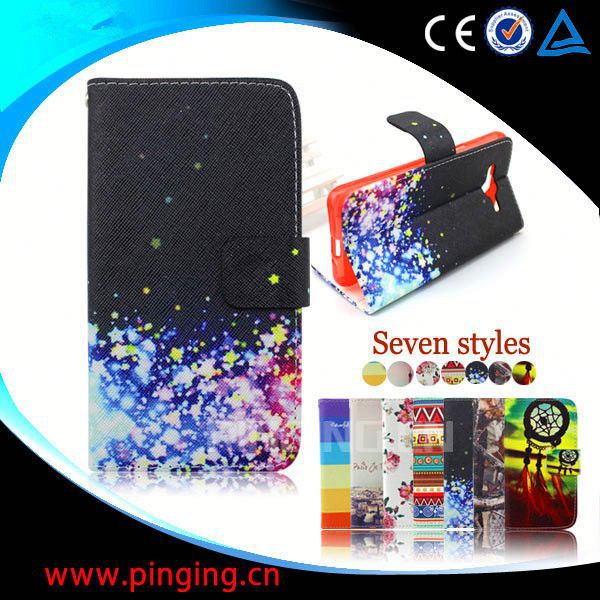 leather flip case for nokia n97 back cover