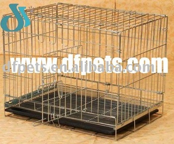 Wire Dog Crate With Tray DFW007