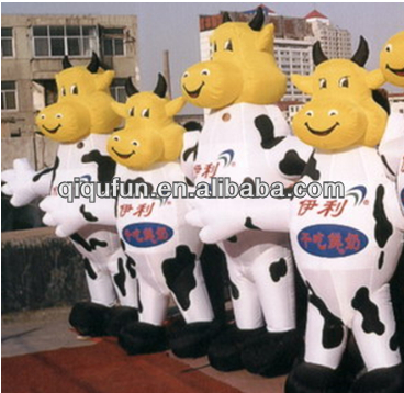 Advertising inflatable cow from China