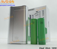 Hot pre-order now! Original Eleaf iStick 100w box mod wholesale iSmoka 100watt e-cigarette mod