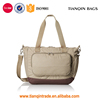 Affordable Durable High-quality Simple Beige Travel Handbag with Front Pocket for All People