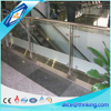 5mm 6mm 8mm 12mm stair use safe glass fence panels with designer edge