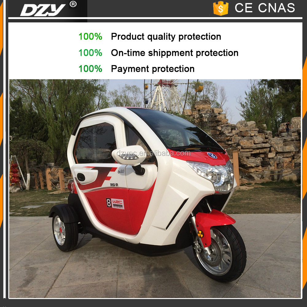 China manufacturer cheap small adult 3 wheel electric car