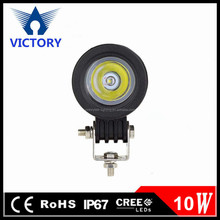 10w led driving light ip67 12v 2 inch round led work light for cars,auto parts,automobile