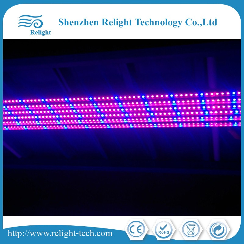 Grow Light bar waterproof for planting with red and blue spectrum