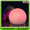 LED round plastic ball table decoration lamp
