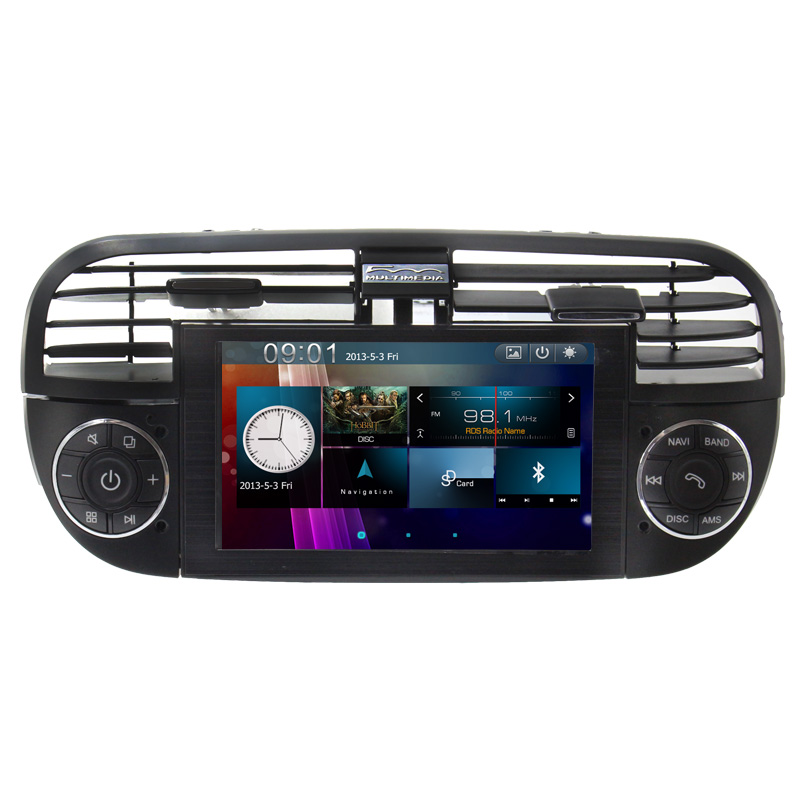 for fiat stilo car radio player gps navigation For fiat 500 car gps with auto radio Bluetooth SD USB Radio