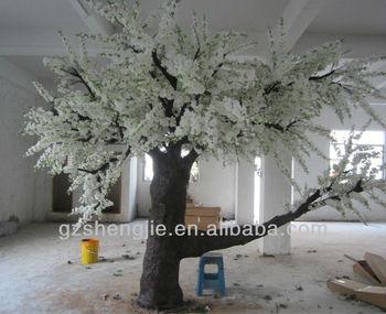 Sj 2013 Hot Sale 20ft Artificial White Cherry Blossom Tree/wedding ...